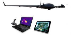 DeltaQuad VTOL Surveillance UAV